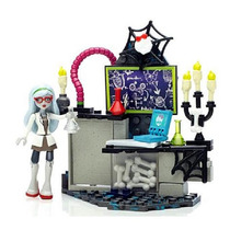 Monster High Creeperific Personaje - Lab Ghoulia Poción