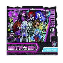 Monster High Stickerzine Sticker Book Album Con 135 Pegatina