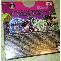 Monster High, Dvd Original Primer Temporada Completa, Temp 1