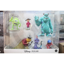 Set De Figuras De Monster Inc.