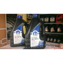 Aceite Mopar 15w40 Multigrado Garrafa 5 Litros
