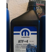 Aceite Mopar Atf4 Atf+4 Sintetico 1qt Transmision Jeep