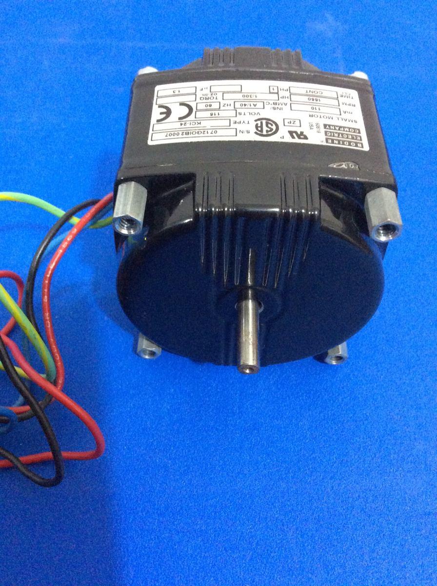 Motor Kci 24 Bodine Electric Company 1 300 Hp 115 Volts