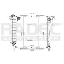 Radiador Explorer/ranger 85-95 V6 3.4/4.0 Lt Estandar