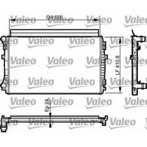 Radiador Audi A3 Seat Vw Golf Vii Valeo