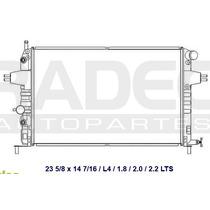 Radiador Astra 2000-2003 1.8/2.0 Lts 06-07 Estandar 1.8 2.0