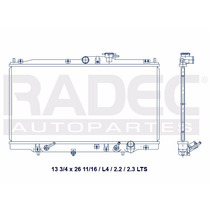 Radiador Honda Accord 94-01 L4 2.2 Lts Automatico