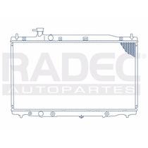 Radiador Honda Cr-v 07-09 L4 2.4 Lts C/aire Acondicionado Au