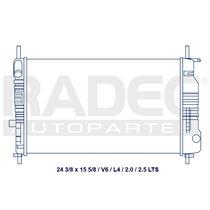 Radiador Contour/mystique 95-02 L4 2.0/2.5 Lts Automatico