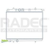 Radiador Peugeot 206 2002-2003 L4/16v 1.6/2.0 Lts C/aire Std