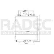 Radiador Chrysler Grand Caravan 1984 L4/v6 2.5/3.0l Automati