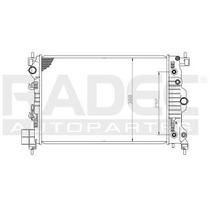 Radiador Chevrolet Aveo 2012-2013-2014 L4 1.6lts Automatico