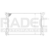 Radiador Ad A4/quattro/s4 02-06 L4 1.8/2.0 Lts Estandar