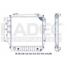 Radiador Jeep Wrangler 91-95 L4/l6 2.5/4.0 Lts Automatico
