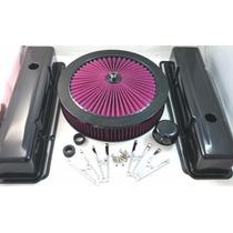 Kit Tapas Valvulas Filtro Accesorios Chevrolet V8 Alto Flujo