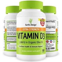 Mejor Vitamina D3 5000 Iu En Aceite De Oliva Ecológico All N
