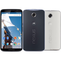 Motorola Nexus 6 Smarthphone Liberado 32gb Blanco Cloud