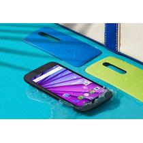 Moto G3 16gb Dual Sim Libre-resistente Al Agua-sellado+tapas