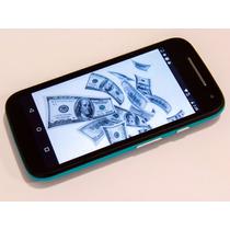 Moto E 2a Gen Wifi Android 5mpx Iusacell Azul Negro 4g Lte