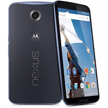 Motorola Nexus 6 Smarthphone Liberado 32gb Azul Midnight