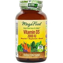 Megafood - Vitamina D-3 2000 Ui Promueve Inmunológico Saluda