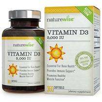 Naturewise Vitamina D3 5000 Ui En Aceite De Oliva Ecológico