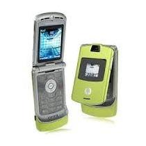 Motorola V3i Nuevo Caja Libre Verde Español Mp3 Bluetooth V3