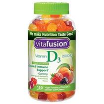 Vitafusion Vitamina D3 Gomosos Vitaminas Sabores Surtidos 15