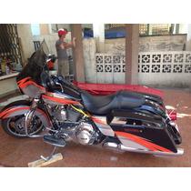 Street Glide Harley 2013 Pintura Única, Super Cuidada