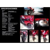 Vento Megelli 250cc Roja