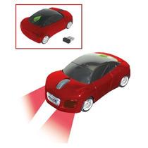 Mouse Optico Inalámbrico De Auto Deportivo Con Luz De 800dpi