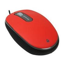 Acteck Mini Mouse Óptico Wkmo004 Alambrico Usb 1600dpi Rojo