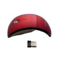 Mouse Optico Inalmabrico Arc Ergonomico Plegable Msu-1038