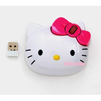Hello Kitty Mouse Pad Inalambrico Unico Modelo Sanrio Au1
