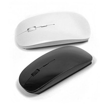 Mouse Inalámbrico Wifi Usb 2.4 Ghz Tipo Apple Cpu Laptop