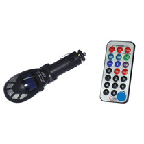 Transmisor Fm Y Reproductor Mp3 Para Automovil Con Usb Y Sd