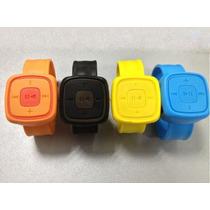 Reproductor Mp3 Reloj Micro-sd Exp.4,8 Audifono Recargable