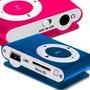 Reproductor Mp3 Shuffle Micro Sd + Cargador De Pared Usb