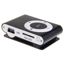 Reproductor Mp3 Shuffle Micro Sd 4gb Usb + Cargador De Pared