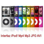 Mp4 Mp3 Expandible 64gb Memoria Musica Video Juegos 5 Genera