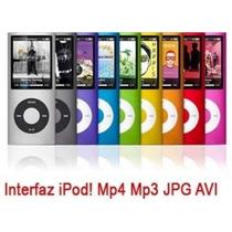 Mp4 Mp3 Expandible 64gb Memoria Musica Video Juegos 5 Genera