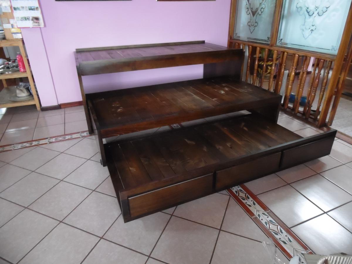 Mueble 3 camas convertible 10 en mercadolibre for Mueble 3 camas
