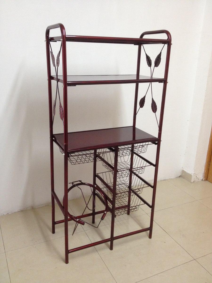 Mueble alacena cocina para fruta y microondas for Trastes de cocina