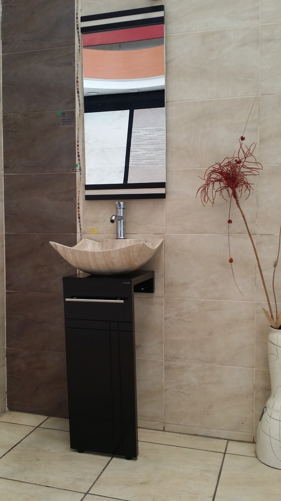 Muebles Para Baño Con Ovalin:Mueble De Baño Lina Con Ovalin Y Espejo Mdf – $ 3,99000 en
