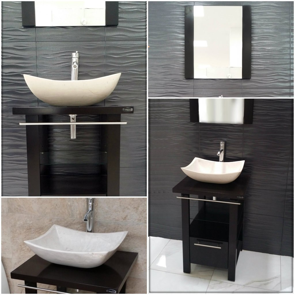 Muebles de ba o minimalistas - Muebles de bano con lavabo ...