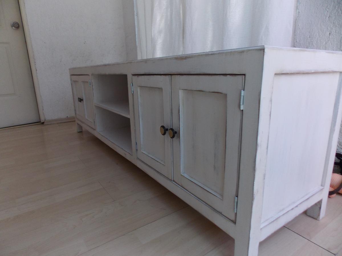 Mueble De Tv Estilo Vintage Color Blanco Antiguo Decapado  All about loving ...