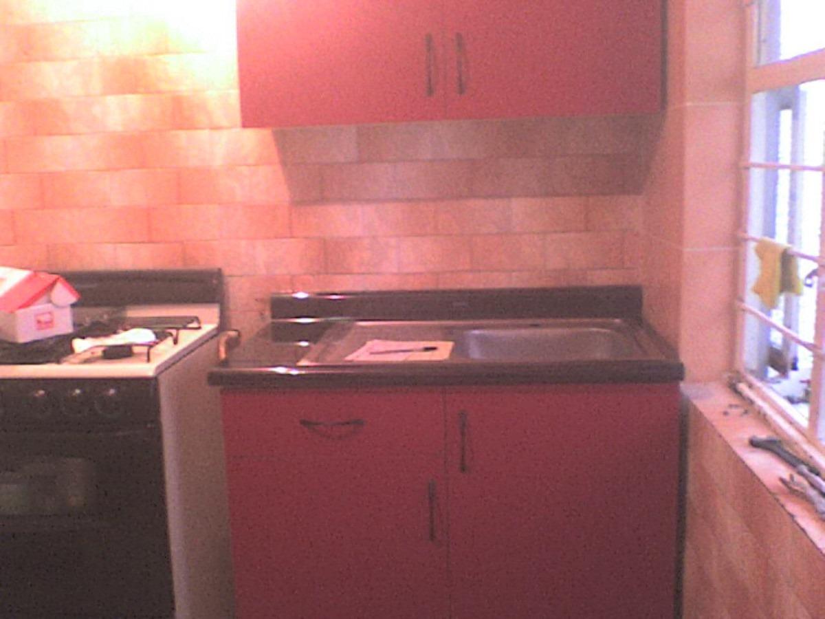 mueble para fregadero con tarja para cocina integral