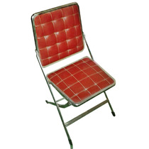 Silla Antigua Vintage - Color Rojo
