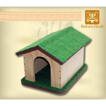 Casa Artesanal Para Perro (madera)