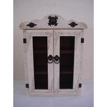 Especiero Vintage .madera De Pino. Excelente Calidad.
